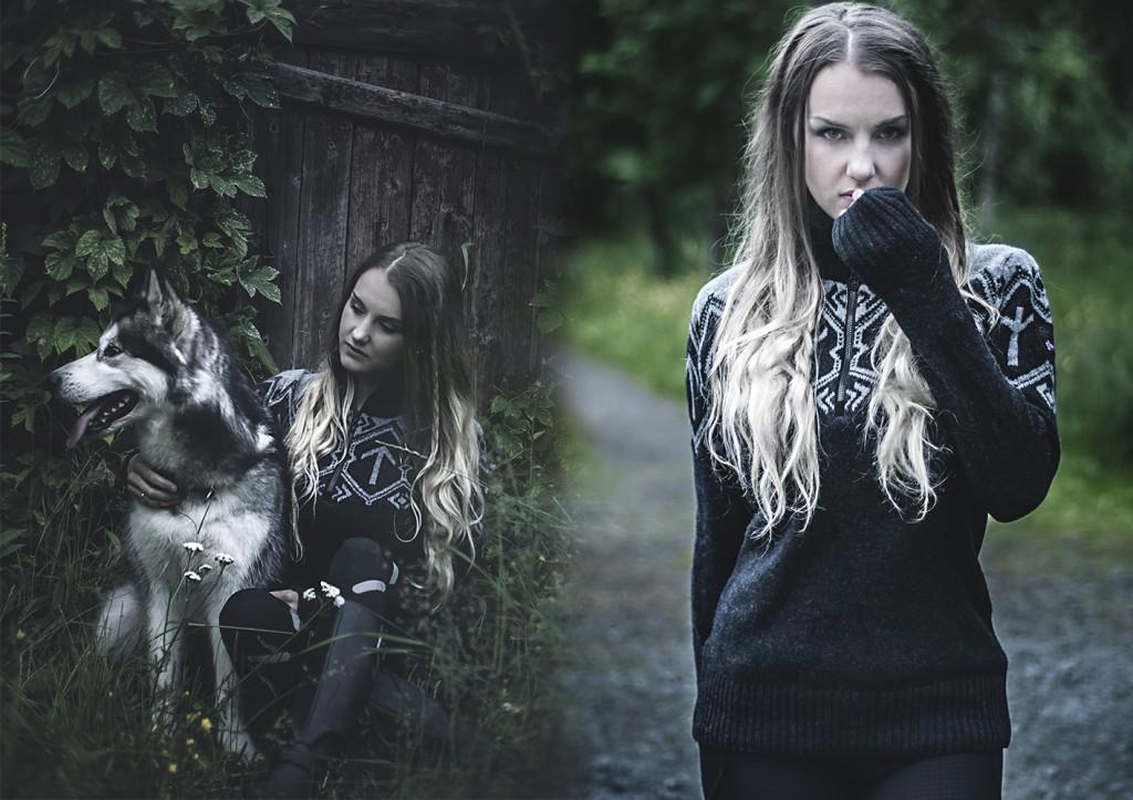 Tora viking sweater